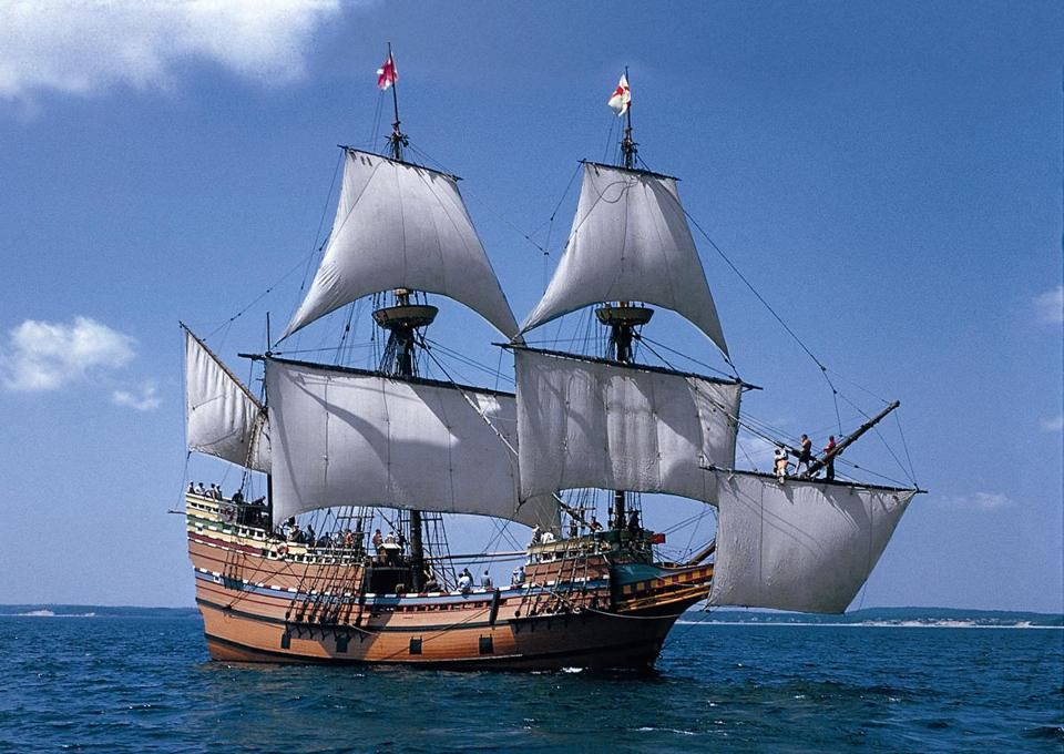 Mayflower II at Sea - PLIMOTH PLANTATION